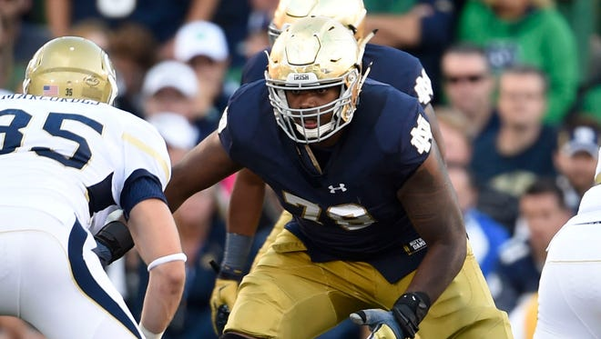 Might Notre Dame LT Ronnie Stanley be the first non-QB selected in 2016.