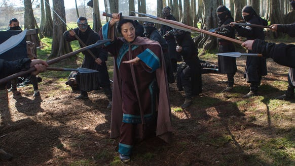 "Michelle Yeoh is back in ""Crouching Tiger, Hidden Dragon:"