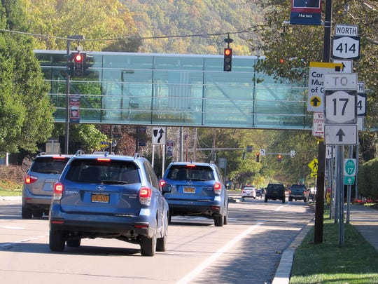 The City of Corning invested about $1.2 million in redesign of Pulteney and Bridge streets to help spur redevelopment of the city's Northside.