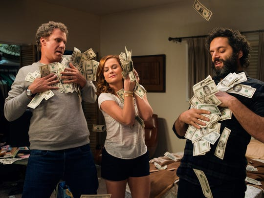 """Will Ferrell (from left), Amy Poehler and Jason Mantzoukas star in """"The House."""" Yes, it's a comedy."""