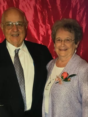 Harold and Imogene Barnhart of Evansville celebrated their 65th anniversary with a private family dinner. They are planning a trip in the fall at the Smoky Mountains.