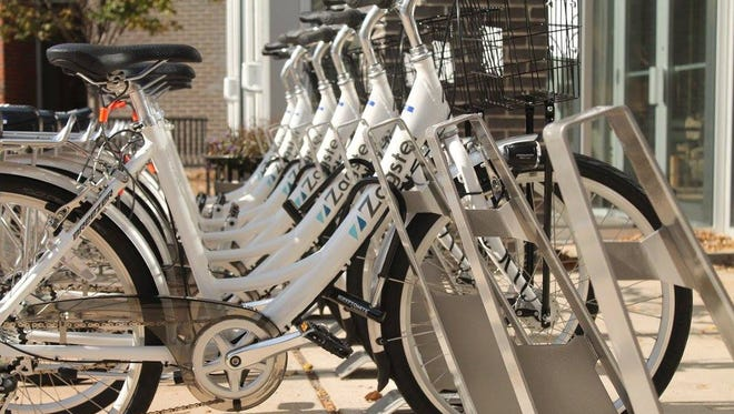 Blue Ash with Zagster, Inc., launches a new bike-share program.
