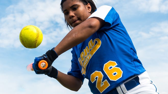 Buena senior Tyra Capers has developed into one of the most reliable and biggest leaders for the Chiefs.
