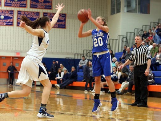 Haldane defeated Pine Plains in the state regional