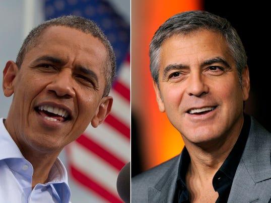Barack Obama George Clooney