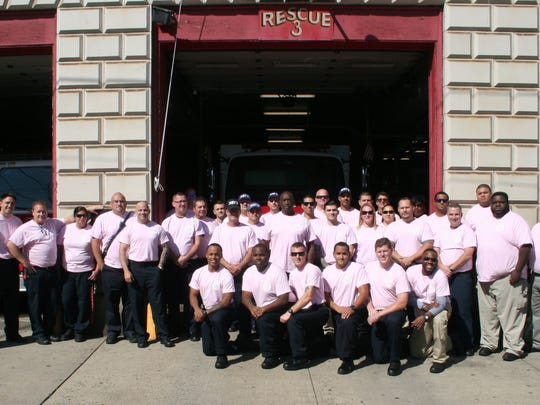 Fueled by the success of raising more than $7,000 last year to fight breast cancer, the New Brunswick Fire Department will again be clad in pink in October to raise money for the cause.