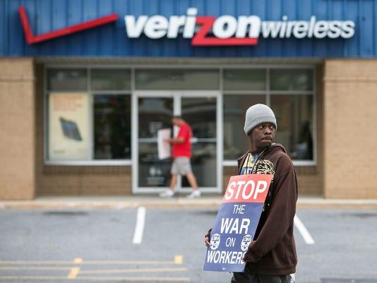 Verizon Strike