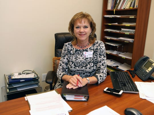 Elaine Healy, M.D., the Vice President of Medical Affairs