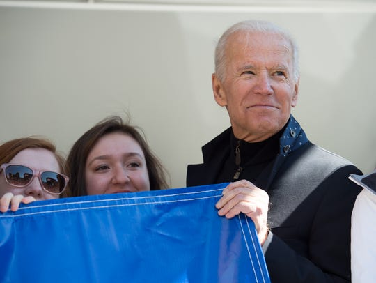 Former Vice President of the United States, Joe Biden,