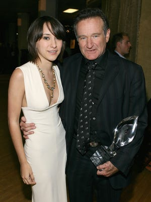 Zelda and Robin Williams in 2007.