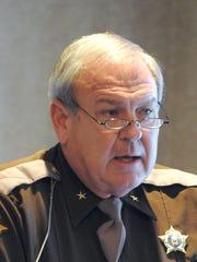 Henderson County Sheriff Ed Brady