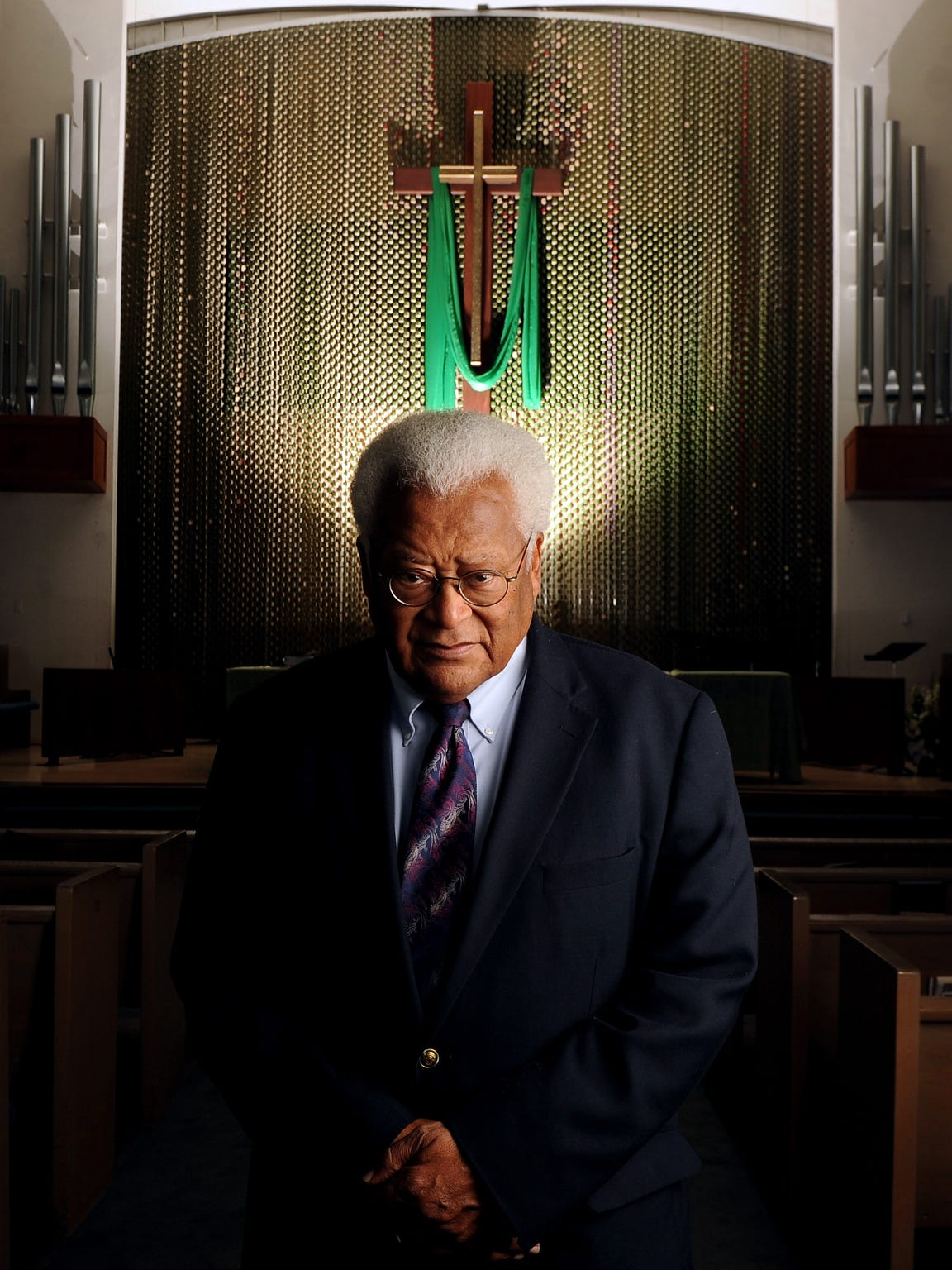 In this 2013 file photo, the Rev. James Lawson, 87,