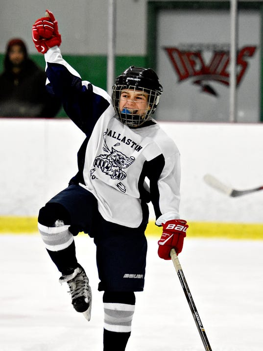 Dallastown vs Penn Manor ice hockey