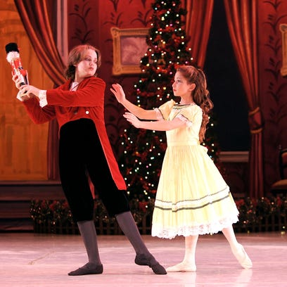 """The Pas de Vie Ballet company presents its production of """"The Nutcracker"""" on Saturday and Sunday in Lee Hall Auditoirum, on the FAMU campus."""