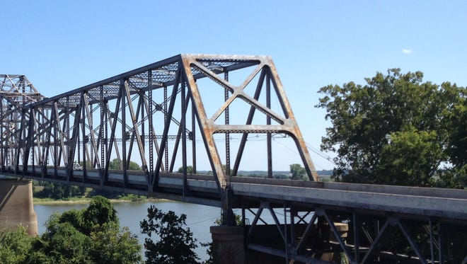 Lane restrictions will continue on the northbound U.S. 41 twin bridges through sometime Sunday, Feb. 19, 2017.