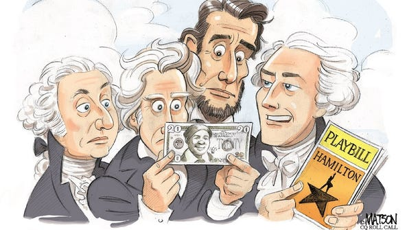 Andrew Jackson off the $20 bill