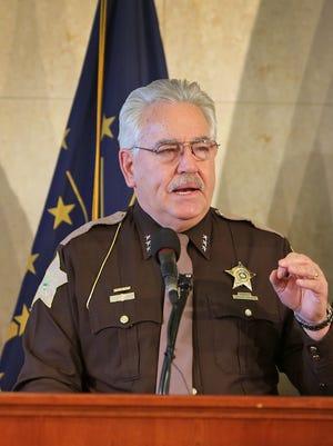 Marion County Sheriff John Layton
