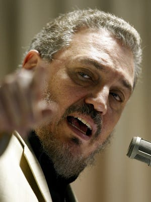 In this Feb. 9, 2007 file photo, Fidel Castro Diaz-Balart, the oldest son of former Cuba President Fidel Castro, addresses the International Economists Conference on Globalization and Development Problems in Havana, Cuba. According to Cuban state media on Feb. 1, 2018, Diaz-Balart has killed himself.