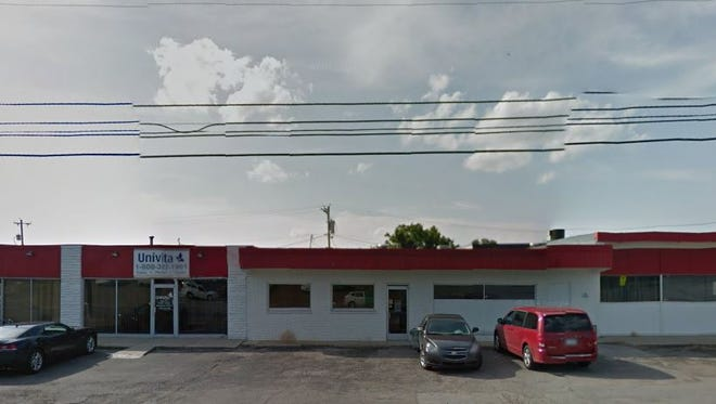 Univita Health operates a durable medical equipment supply store from the East Nashville property where Green & Little is eyeing a mixed-use project.