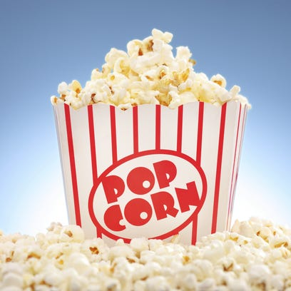 Oh, that popcorn is popped? There's sales tax with