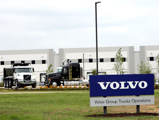 Volvo opens new distribution center in Mississippi
