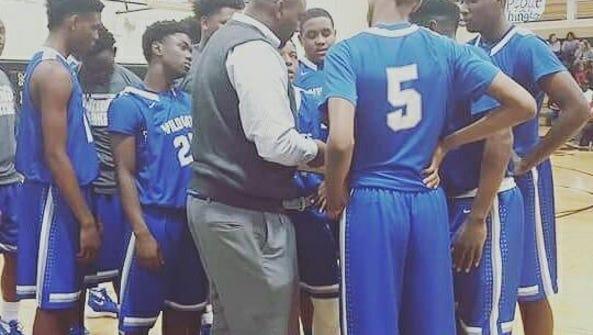 Washington head coach Justin Pierce and the Wildcats