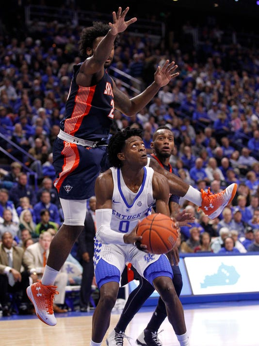 NCAA Basketball: Tenn-Martin at Kentucky