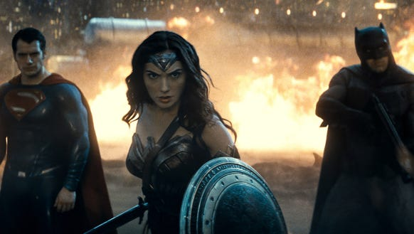 Wonder Woman in 'Batman v Superman: Dawn of Justice.'