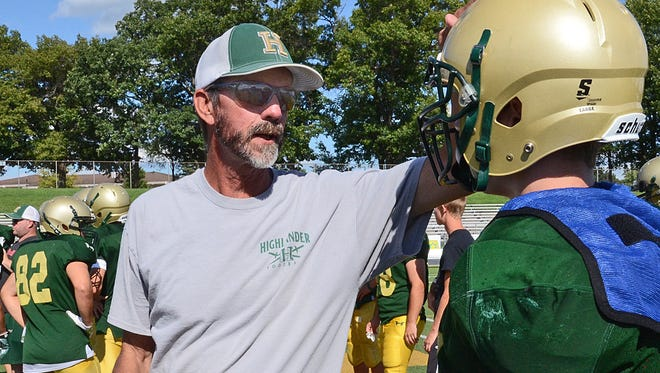 Howell's Ken Richards, who is battling cancer and has been since October, has accomplished a goal of being able to return to coach football in August.