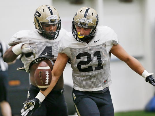 LAF Purdue Spring football Practice Day 5
