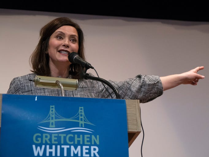 Gretchen Whitmer speaks about the Michigan she grew