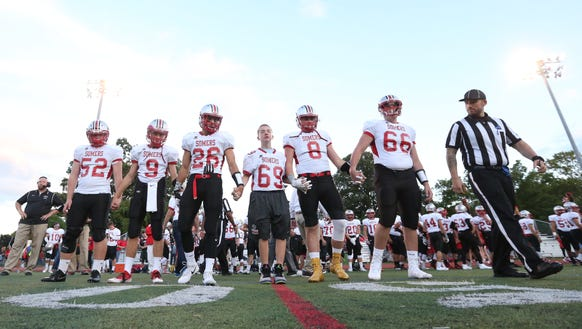 Somers defeats Rye 21-14 on Friday, September 8, 2017