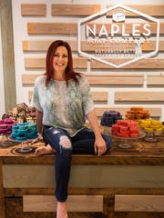 Naples Soap Co. founder Deanna Wallin, then known as