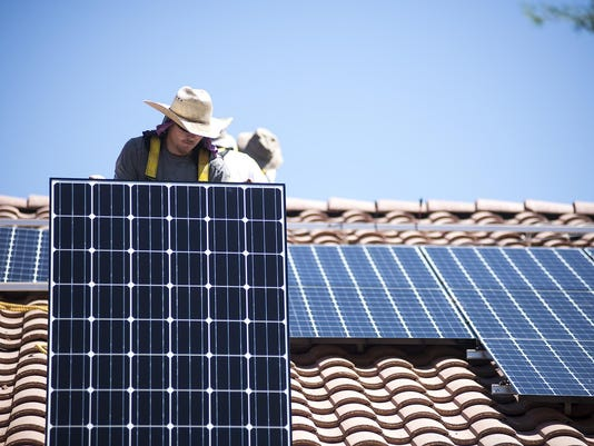 Solar panel effects on home values