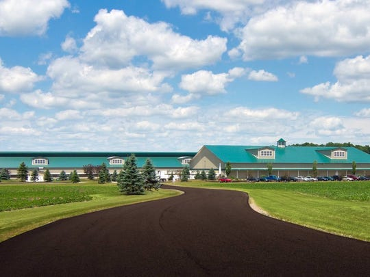 Herbruck's Poultry Ranch has proposed a large egg-laying operation near Mercersburg. An egg farm in Michigan is pictured.