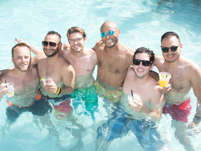 The Summertime Pool Party at the Clarendon Hotel was