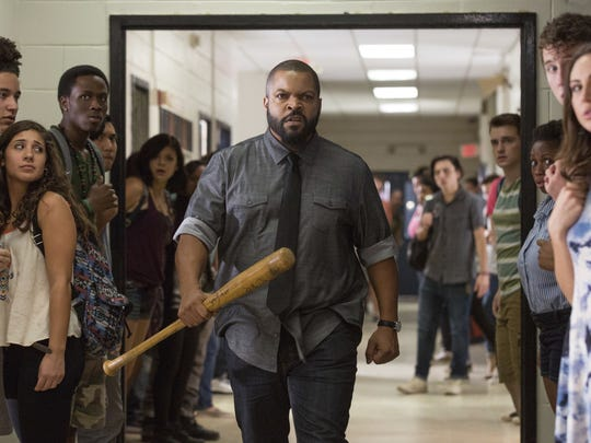 "Ice Cube appears in a scene from ""Fist Fight."""