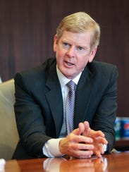 P&G CEO David Taylor speaks with The Cincinnati Enquirer