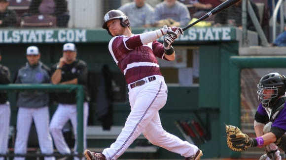 Gavin Collins is one of four Mississippi State players selected to play in the Cape Cod League this summer.