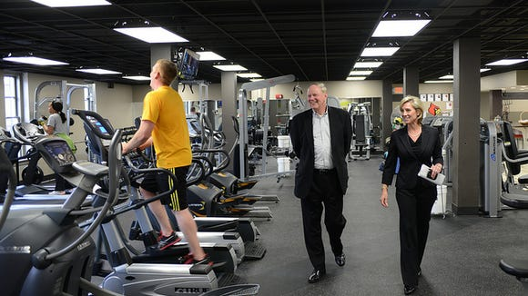 The University of Louisville's Get Healthy Now Wellness Center.