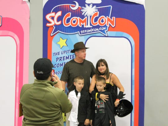 Thousands of guests browse the comics, cosplayers and celebrities available at SC Comicon May 17 at TD Convention Center in Greenville.