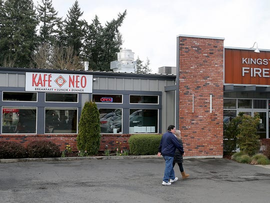 The Kafe Neo restaurant in Kingston has been open since January.