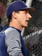 Milwaukee Brewers manager Craig Counsell.
