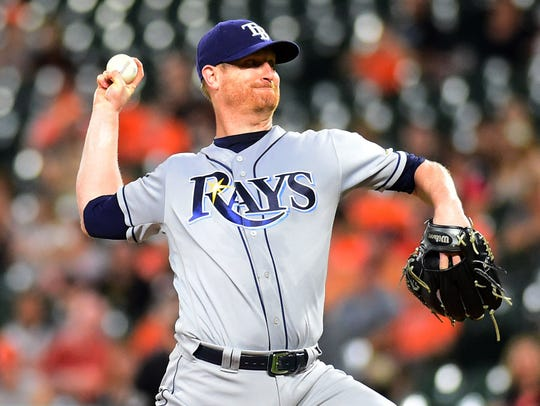 Alex Cobb set career highs in innings pitched (179