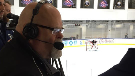 Don Stevens' radio call of Amerks games will now be