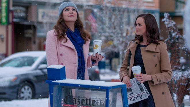 "Lauren Graham, left, and Alexis Bledel will star in ""Gilmore Girls: A Year in the Life."""