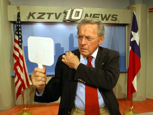 KZTV News Director and former anchor, Walter Furley,