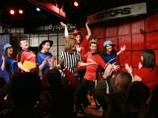 Get in some laughs on March 18 when ComedySportz comes