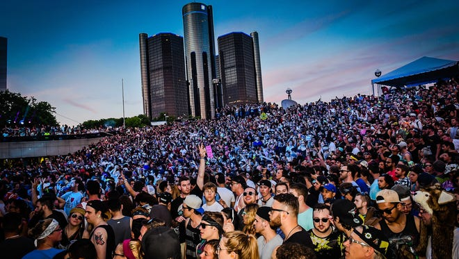 Memorial Day weekend's Movement Electronic music festival came to a roaring close as Hart Plaza was alive with music, sights and sounds Monday May 25th.