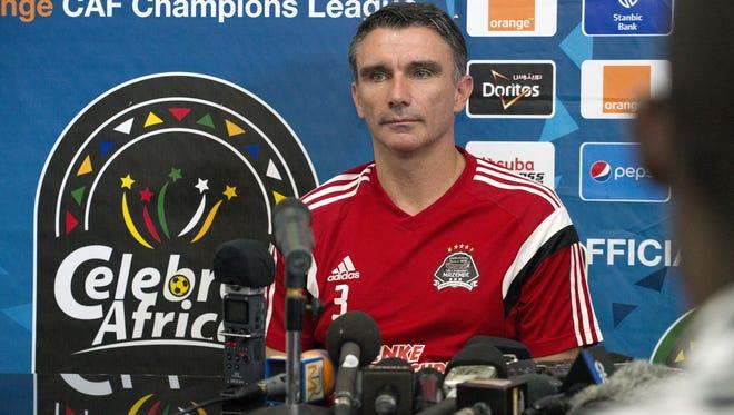 Patrice Carteron will be the new Phoenix Rising FC head coach.